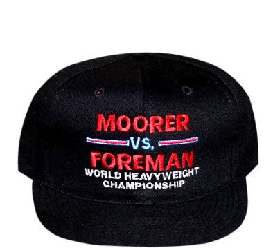 Foreman VS Moorer Strapback - And Still