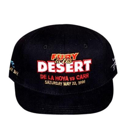 De La Hoya VS Carr Strapback - And Still