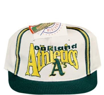 A's Big Logo Game Deadstock Snapback