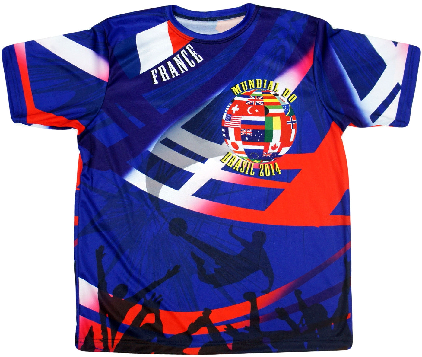 France 2014 World Cup Jersey - And Still