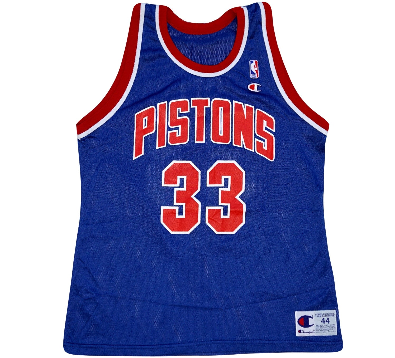 Grant Hill Pistons 90's Jersey - And Still
