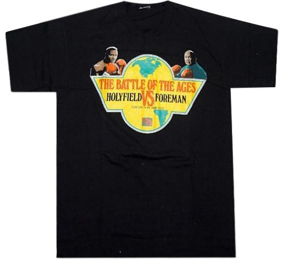 Foreman VS Holyfield Fight Shirt