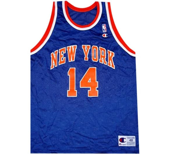 Anthony Mason Knicks Jersey