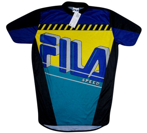 Fila Vintage 90's Cyling Jersey - And Still