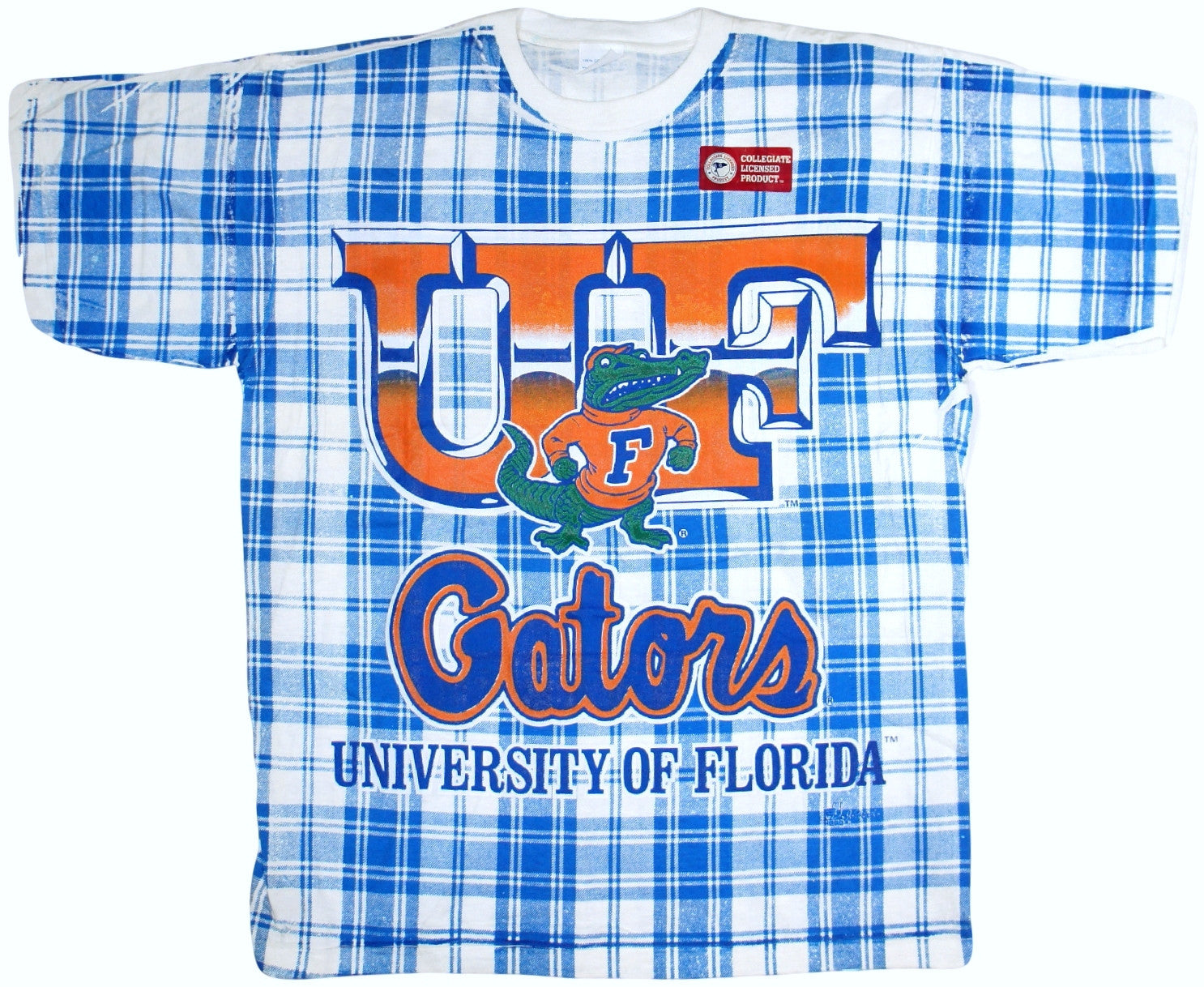 Gators Vintage 90's Plaid Shirt - And Still