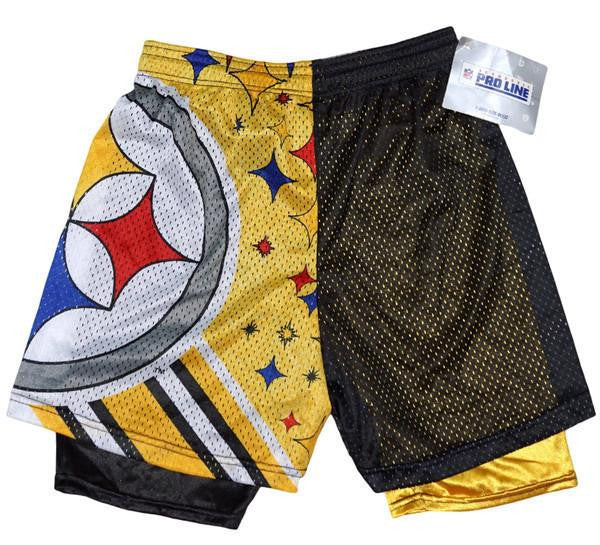 Steelers Vintage Mesh Shorts