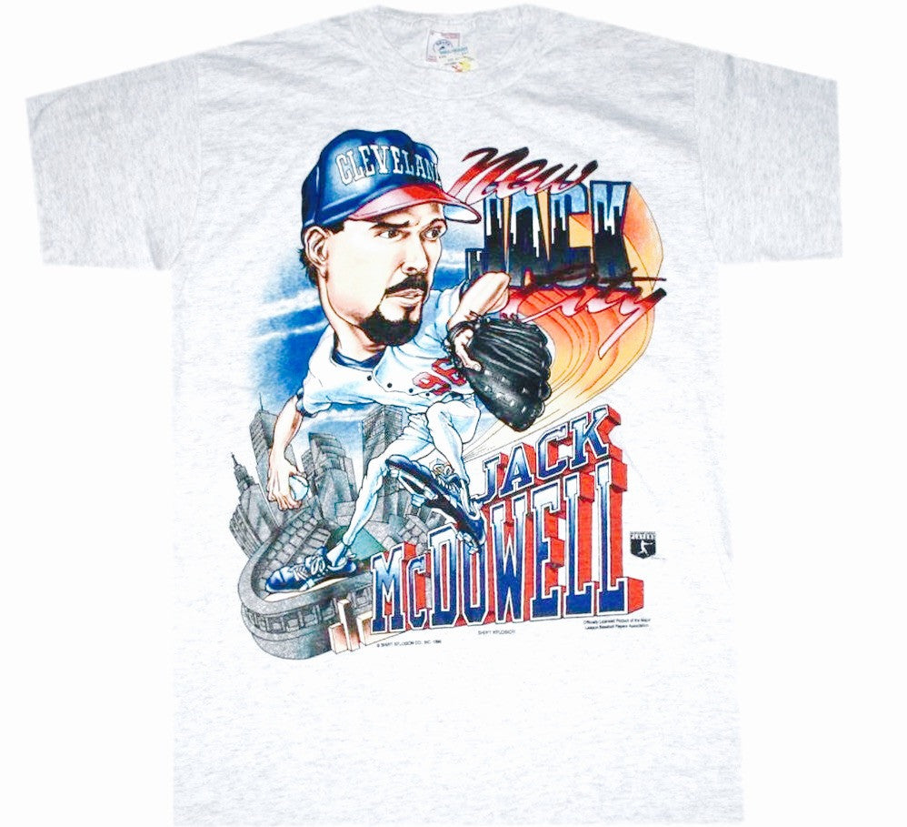 Jack McDowell Indians Shirt - And Still