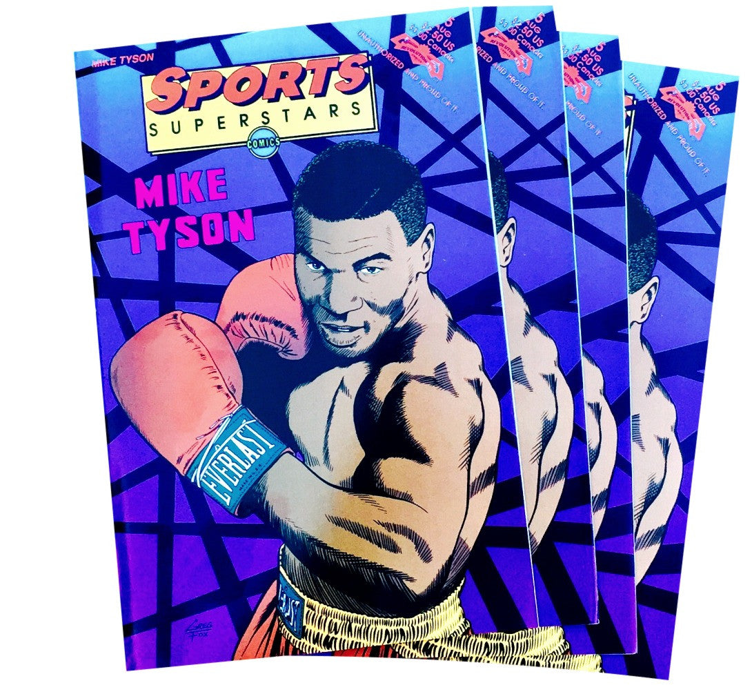 Mike Tyson 90's Comic Book - And Still