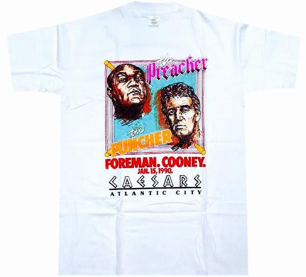 Foreman VS Cooney Fight Shirt