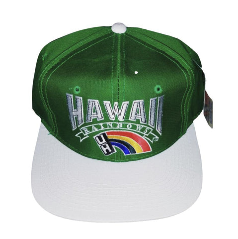 Vintage Hawaii Rainbows Snapback Hat
