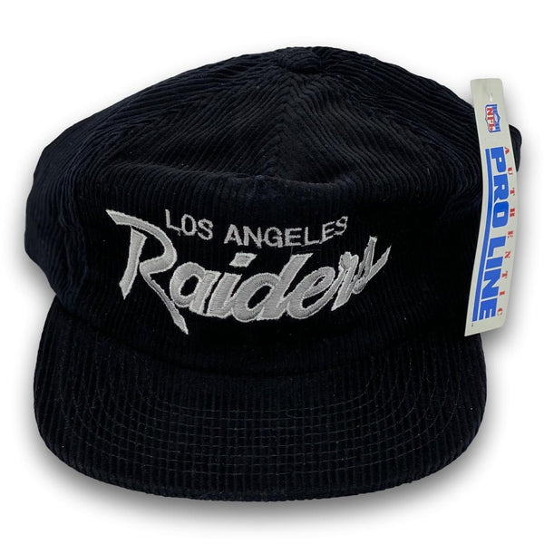 Vintage Los Angeles Raiders Corduroy Hat