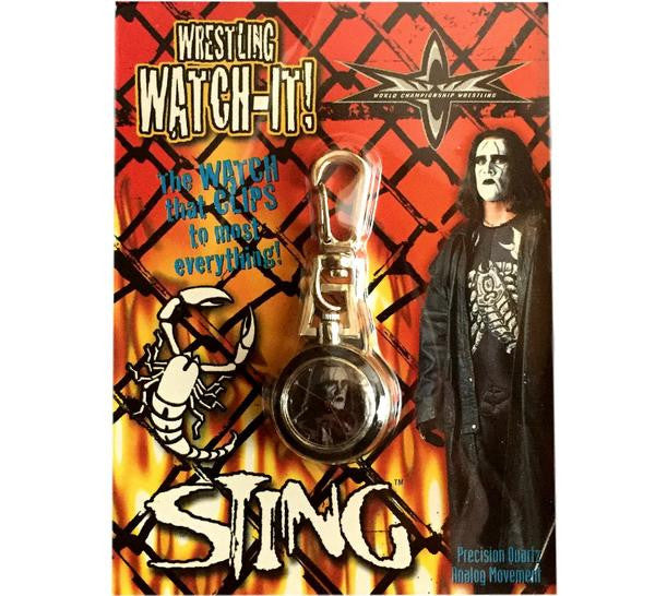 Sting Vintage WCW Watch