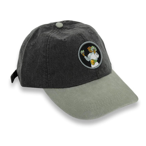 """Money Mike"" Hat (black/stone)"