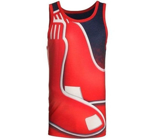 Red Sox Retro Tank Top Shirt
