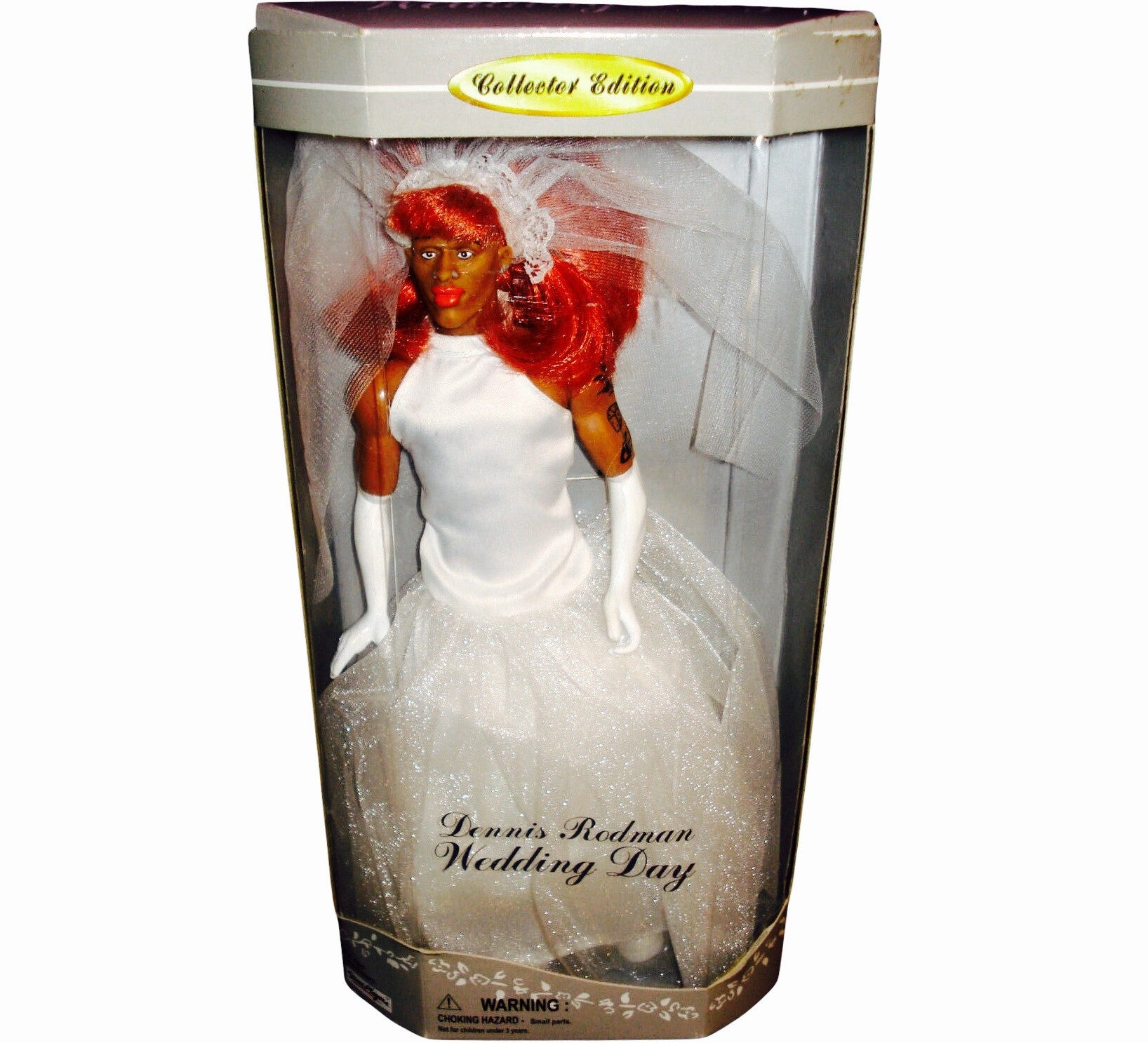 Dennis Rodman Wedding Doll - And Still