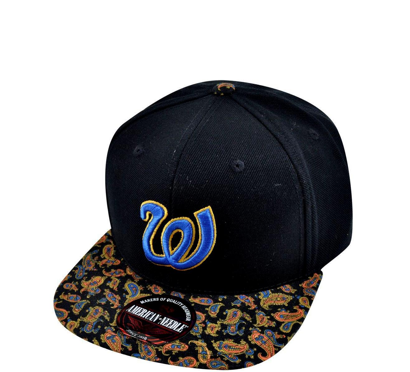 Nationals Retro Strapback Hat