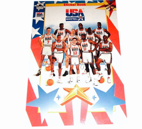 1992 Dream Team Sticker Book - And Still