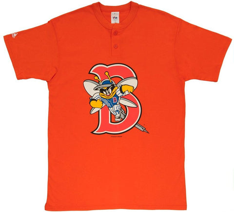 Burlington Bees Retro Henley - And Still
