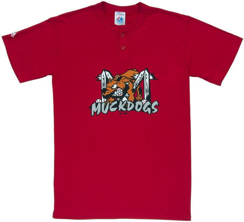 Batavia Muckdogs Retro Henley - And Still