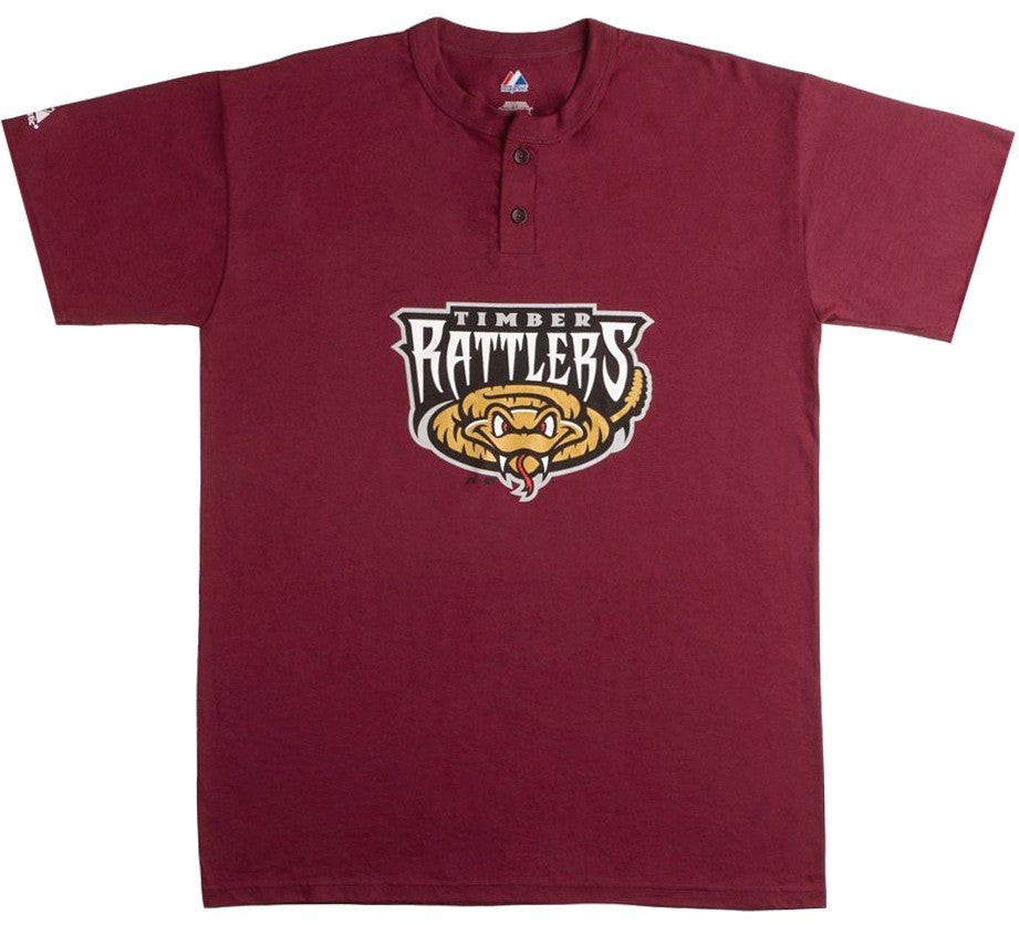 Timber Rattlers Retro Henley