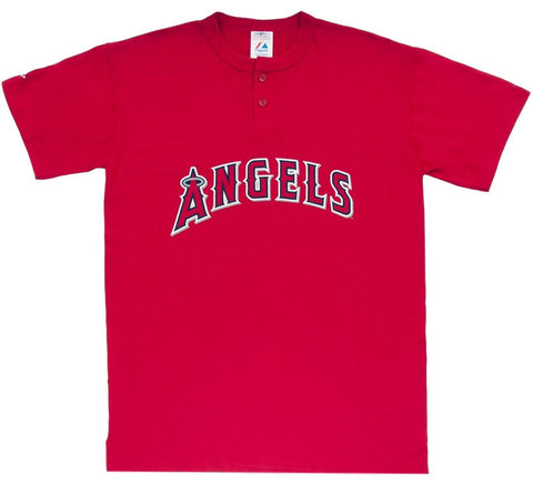 Angels Retro Henley MLB Shirt - And Still