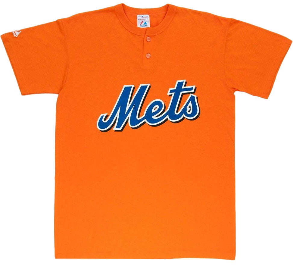 Mets Retro MLB Henley Shirt - And Still