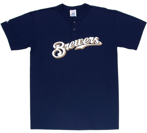 Brewers Retro Henley MLB Shirt - And Still
