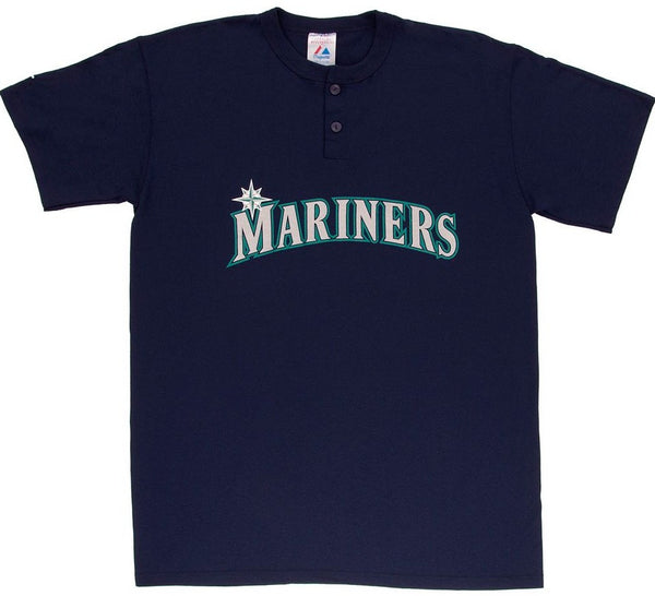 Mariners Retro Henley Shirt - And Still