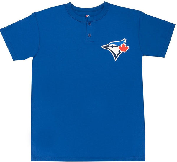 Blue Jays Retro Henley Shirt - And Still