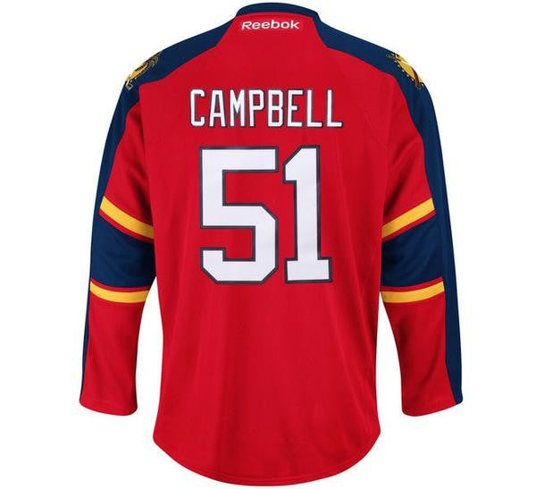 Brian Campbell Panthers Jersey