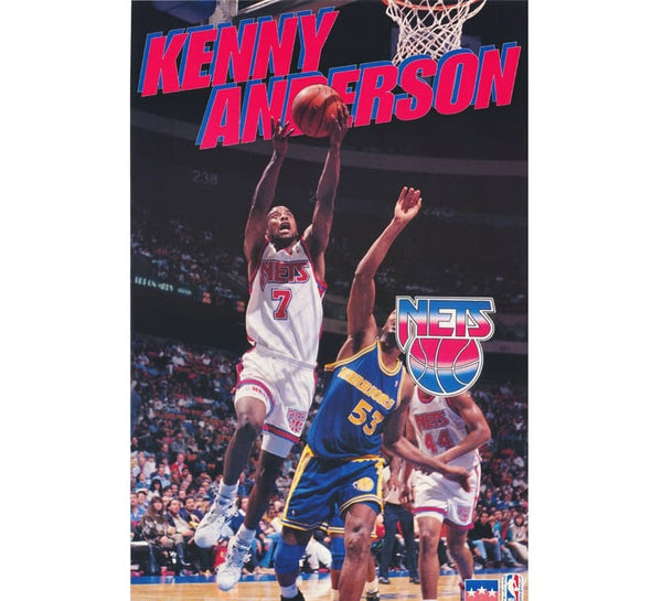 Kenny Anderson Vintage Poster