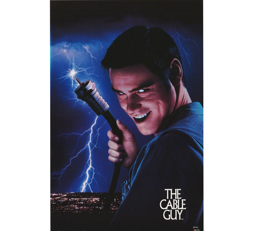 Cable Guy Vintage 90's Poster