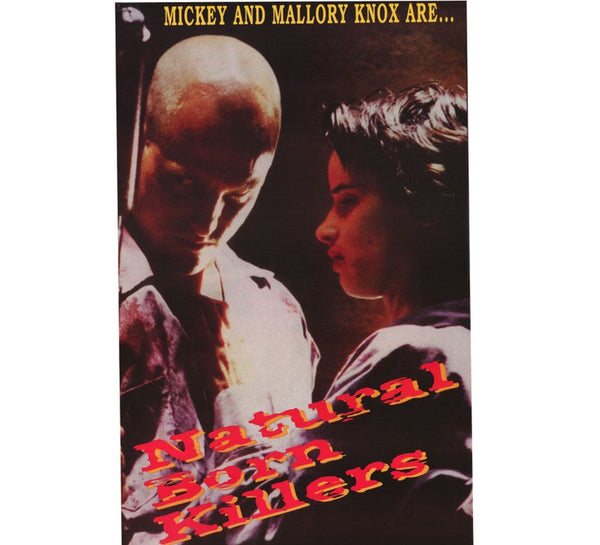 Natural Born Killers 90's Poster
