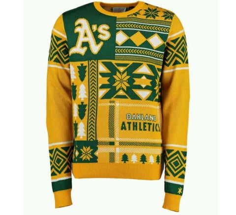 Athletics Christmas Sweater - And Still
