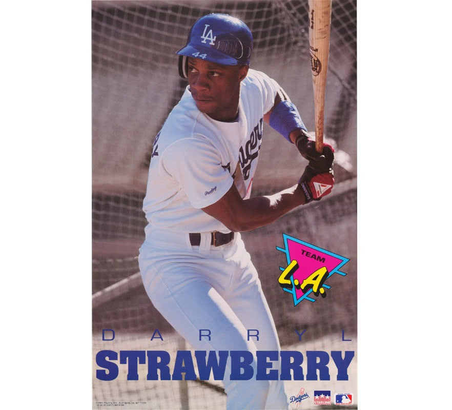 Darryl Strawberry 90's Poster - And Still