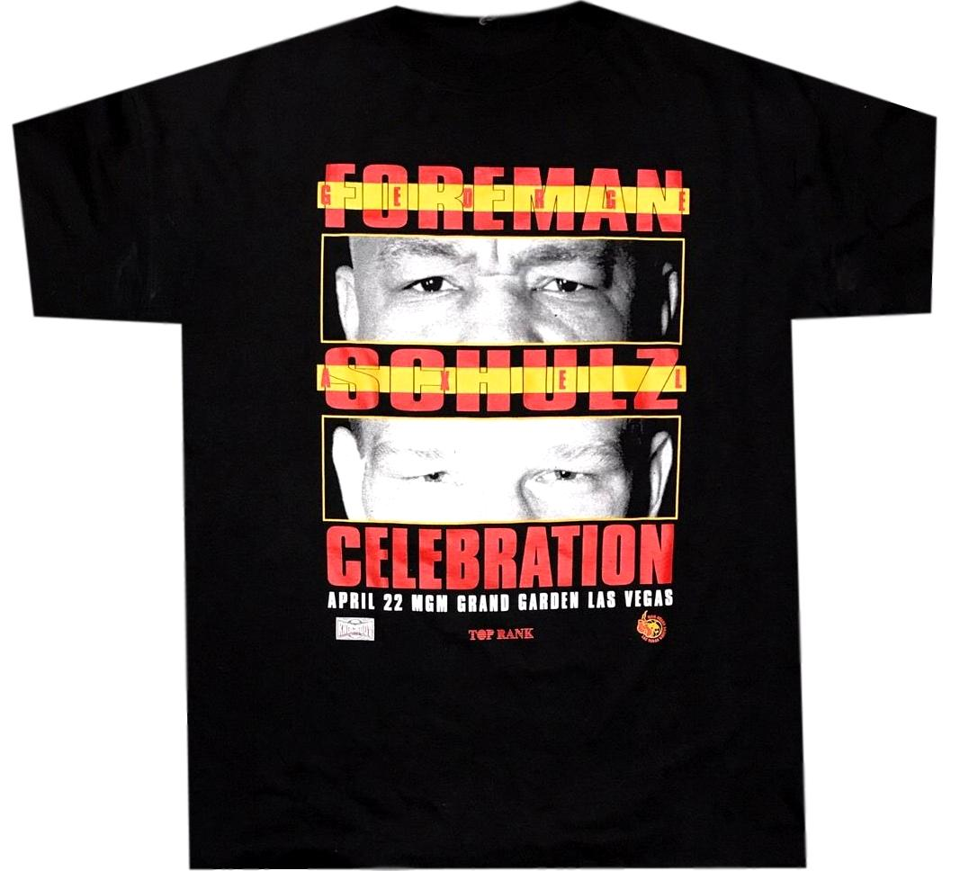 Foreman VS Schultz Fight Shirt