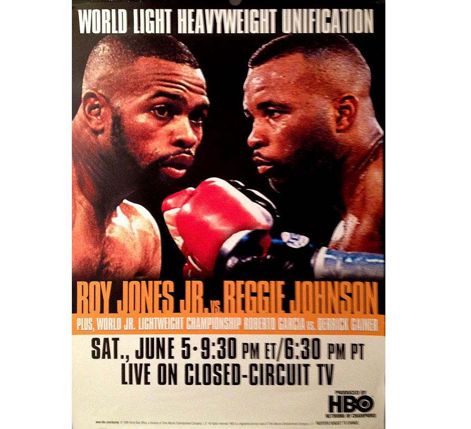 Jones VS Johnson Fight Poster