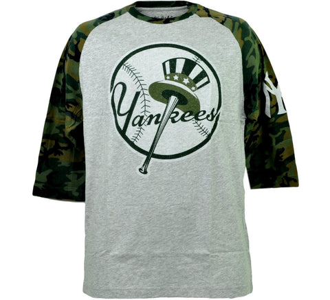 Yankees Retro MLB Henley Shirt