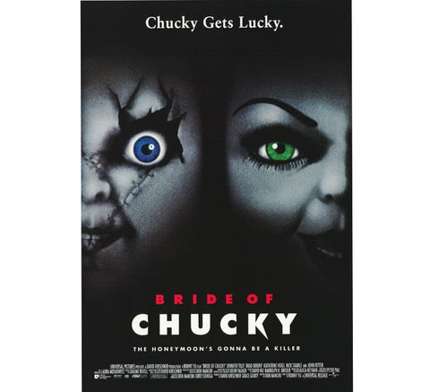 Bride Of Chucky Vintage Poster