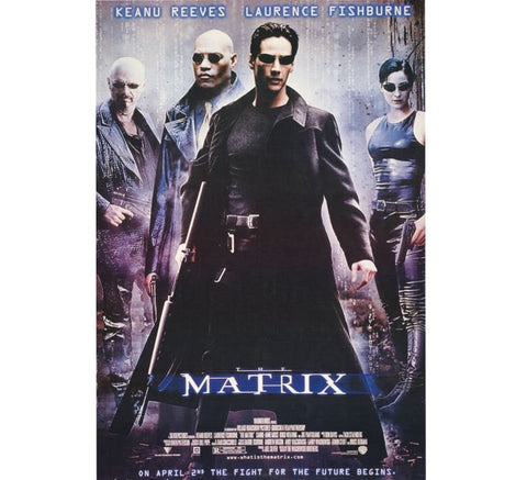 The Matrix Vintage Movie Poster