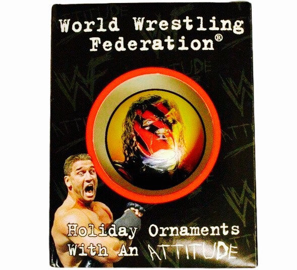 Kane Vintage WWF Ornament - And Still