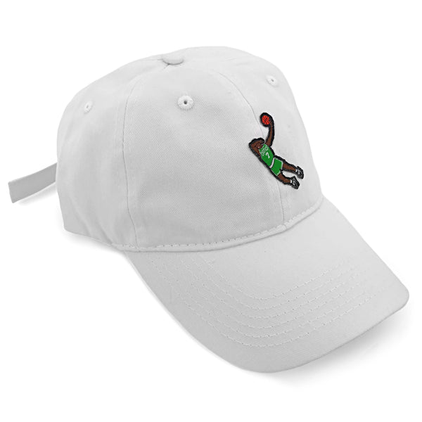 """Dab Brown"" Hat (white)"
