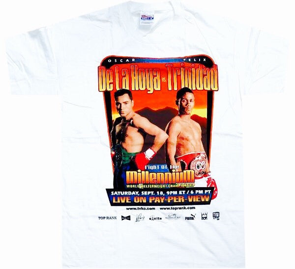 De La Hoya VS Trinidad Shirt - And Still