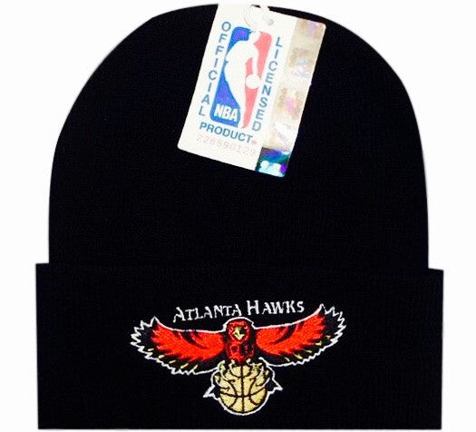 Hawks Vintage NBA Beanie Atlanta Throwback Rare Spud Dunk Photos ... 1ccfbb146e5