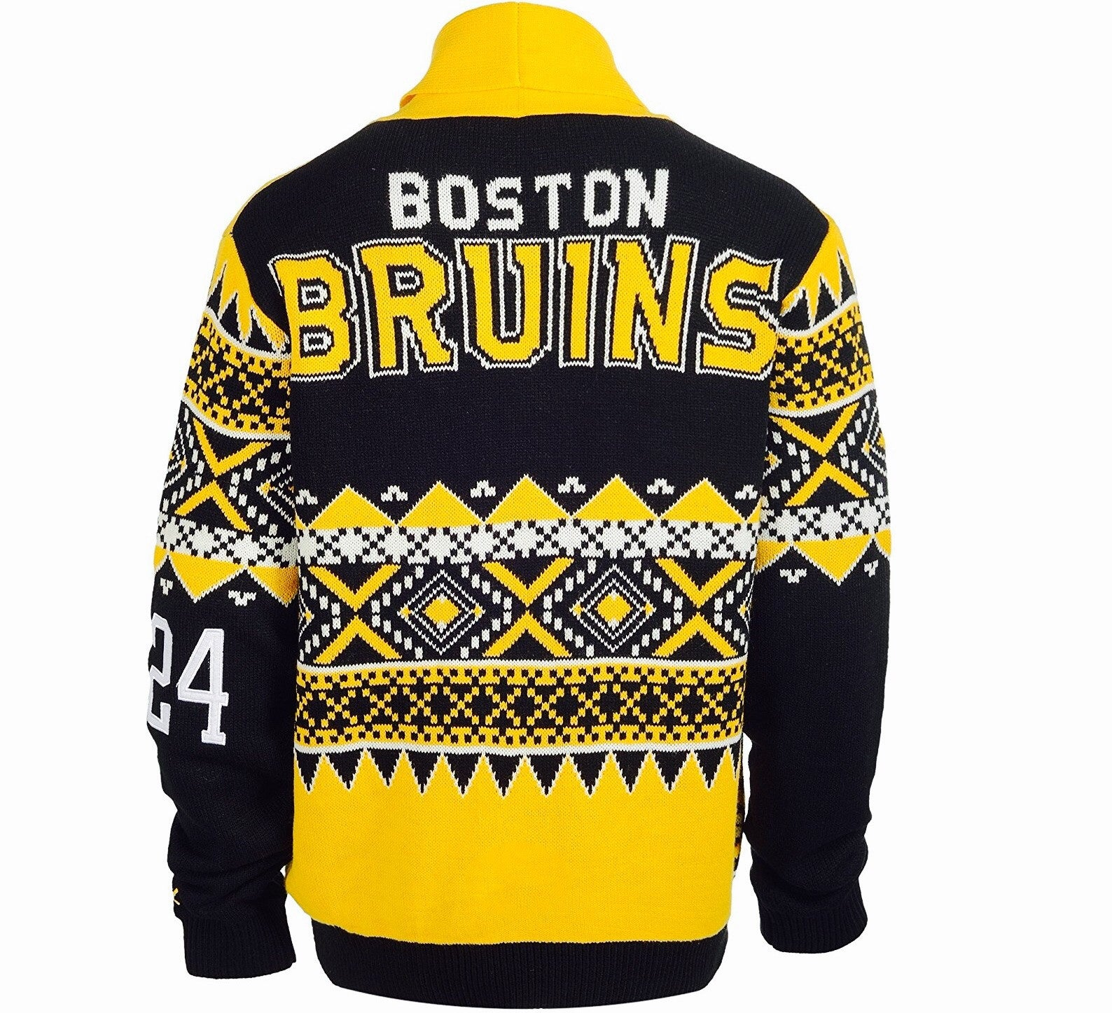 Bruins Retro Cardigan Sweater - And Still