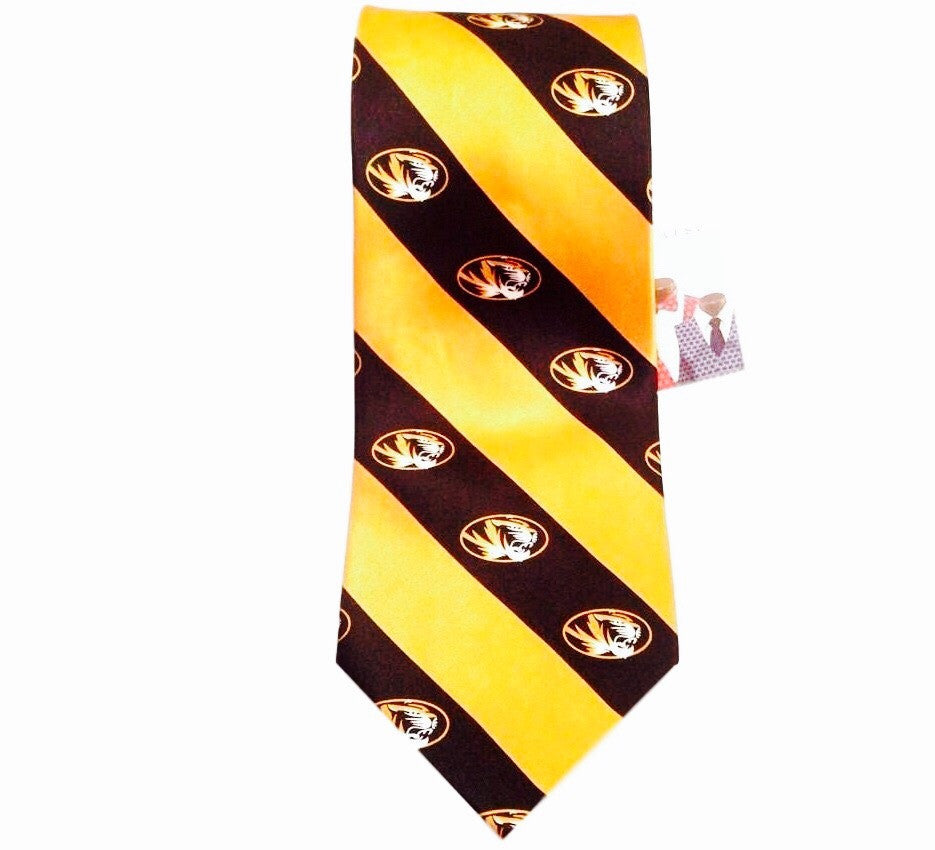 Missouri Tigers Retro Silk Tie - And Still