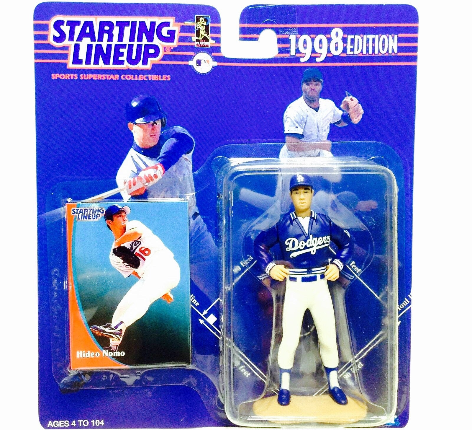 Hideo Nomo Starting Lineup - And Still