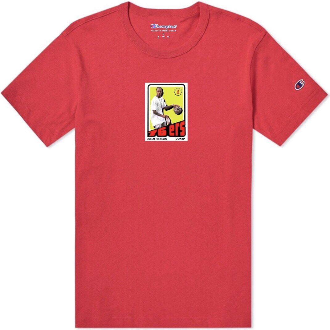 """The Answer"" Champion T-Shirt (red)"