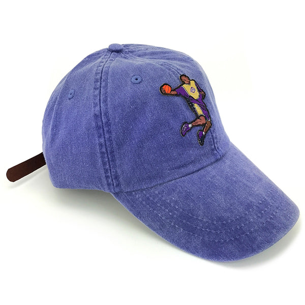 """KB8"" Hat (dyed purple)"