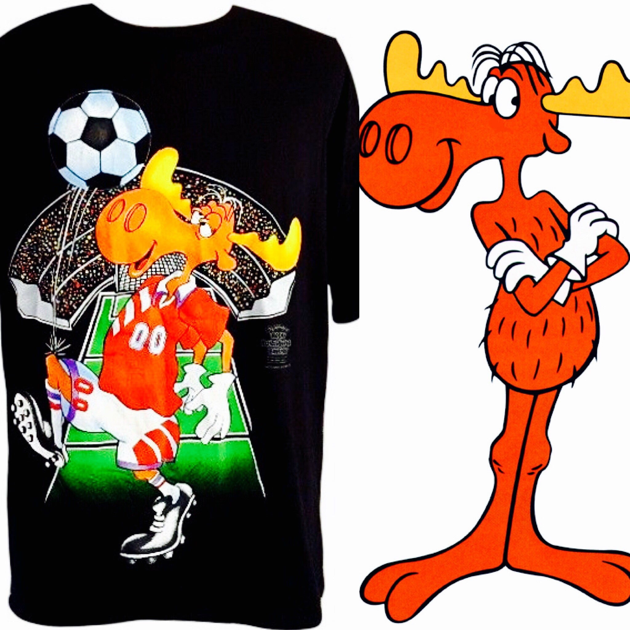 Bullwinkle World Cup 1994 Shirt - And Still